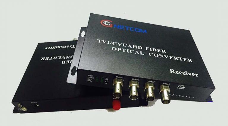 Bộ chuyển đổi video sang quang 4 kênh 1080P Ho-Link chính hãng