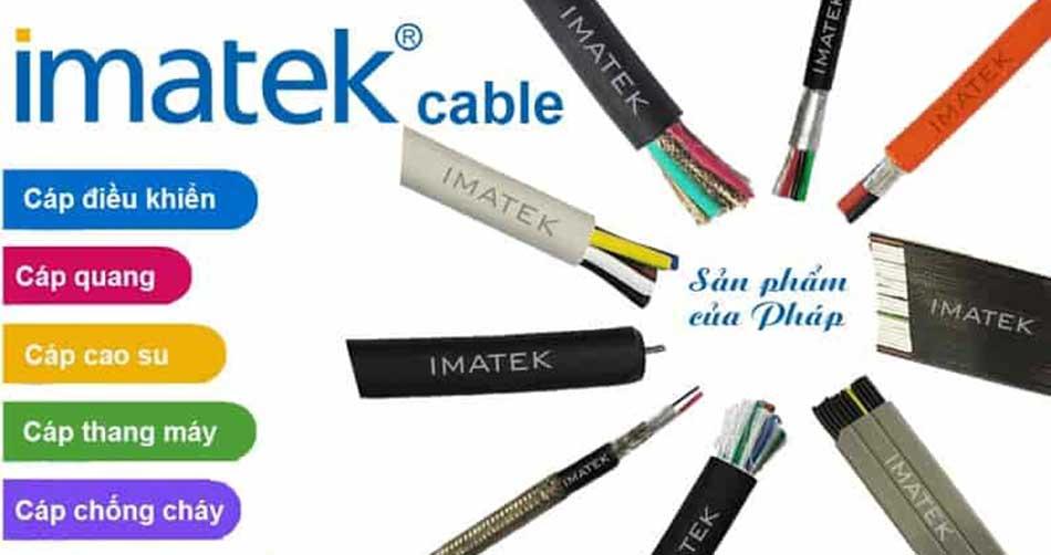 Cáp điều khiển Imatek nhập khẩu chính hãng
