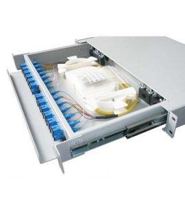 Hộp phối quang ODF 24FO trong nhà lắp tủ rack