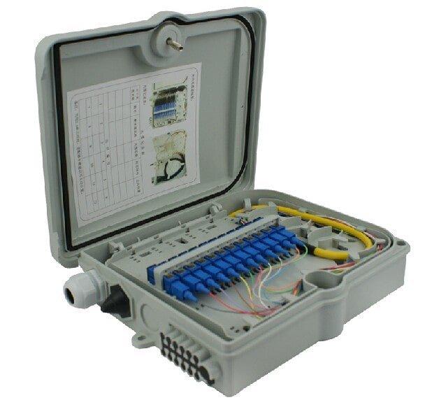 Hộp phối quang odf- odf quang đầy đủ phụ kiện chính hãng, giá rẻ