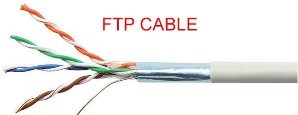 Cáp mạng cat5e FTP AMP chính hãng, giá rẻ