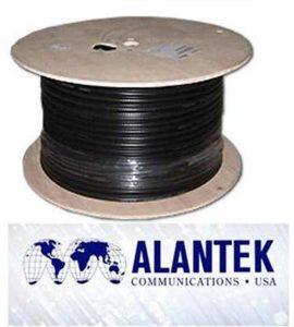Cáp điều khiển Alantek 24AWG 2 Pair chuẩn RS485 vặn xoắn chống nhiễu