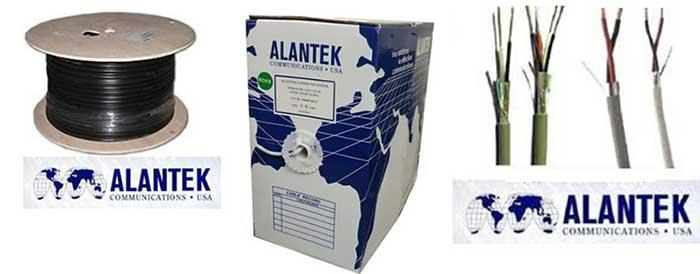 Cáp điều khiển Alantek 22AWG 3 Pair - cáp tín hiệu Audio/Control chống nhiễu
