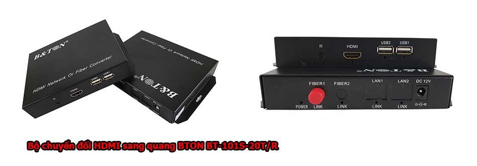 Bộ chuyển đổi HDMI sang quang BTON BT-101S-20T/R
