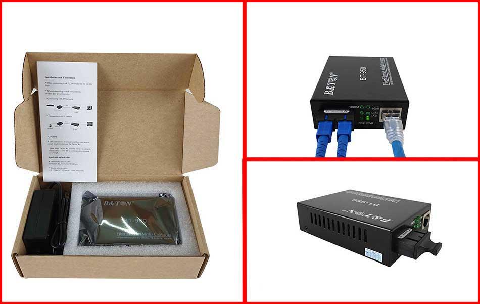 Bộ chuyển đổi quang điện BTON BT-950 SG-20