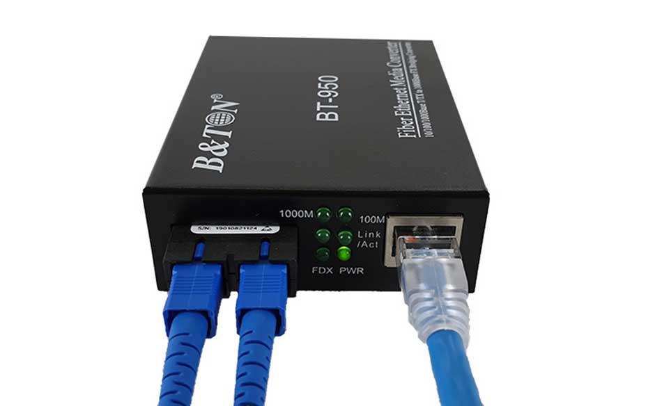 Bộ chuyển đổi quang điện BTON BT-950 SM-25