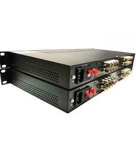 Bộ chuyển đổi video sang quang 16 kênh Gnetcom