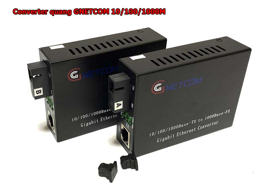 Bộ chuyển đổi quang điện 1 sợi GNETCOM