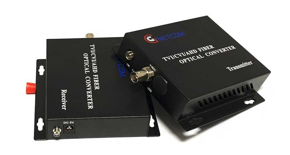 Bộ chuyển đổi Video sang quang 1 kênh GnetCom