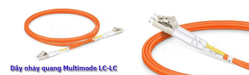 Dây nhảy quang LC-LC Multimode OM2