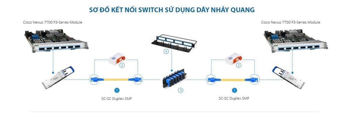 Dây nhảy quang SC-SC Single mode