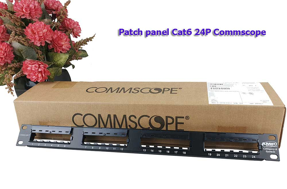 Patch panel Commscope Cat6 24 Port  1375014-2