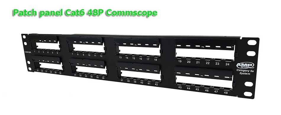 Patch panel Commscope Cat6 48 Port 1375015-2