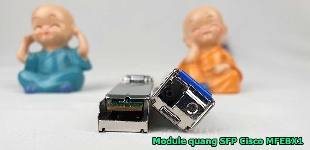 Module quang SFP 1 sợi Cisco MFEBX1