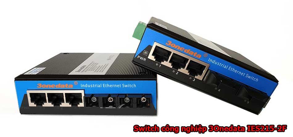Switch mạng công nghiệp 3Onedata IES215-2F