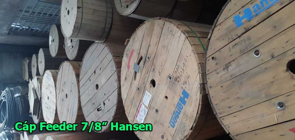 "Cáp đồng trục Feeder 7/8"" Hansen - Rosenberger"