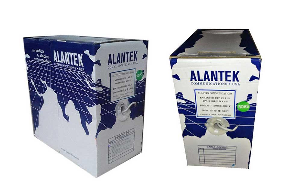 Dây cáp mạng Cat6 FTP Alantek chống nhiễu