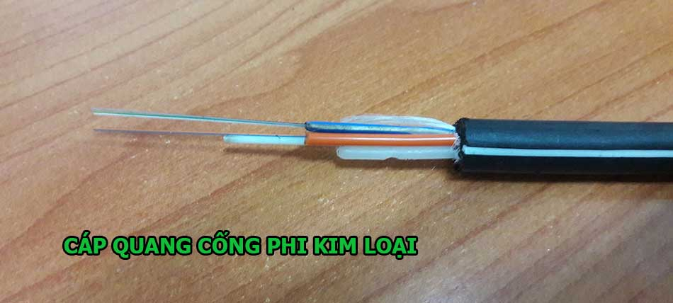 Cáp quang cống phi kim loại