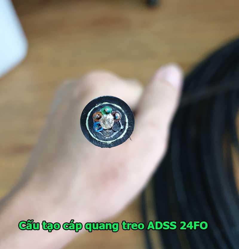 Cáp quang treo ADSS Singlemode