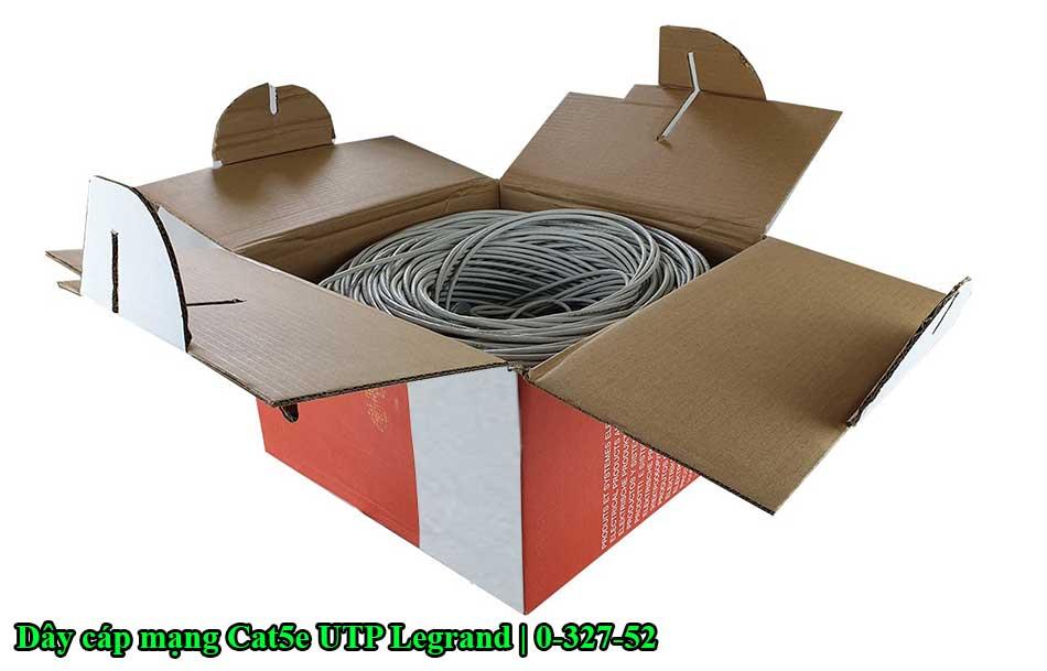 Dây cáp mạng Cat5e UTP Legrand | 0-327-52