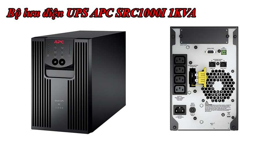 Bộ lưu điện UPS APC 1KVA SRC1000I