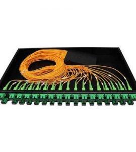 """Bộ chia tách quang 1x64 lắp box chuẩn 19"""" lắp rack chính hãng"""