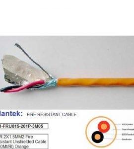 Cáp tín hiệu 2x1.5mm2 chống cháy
