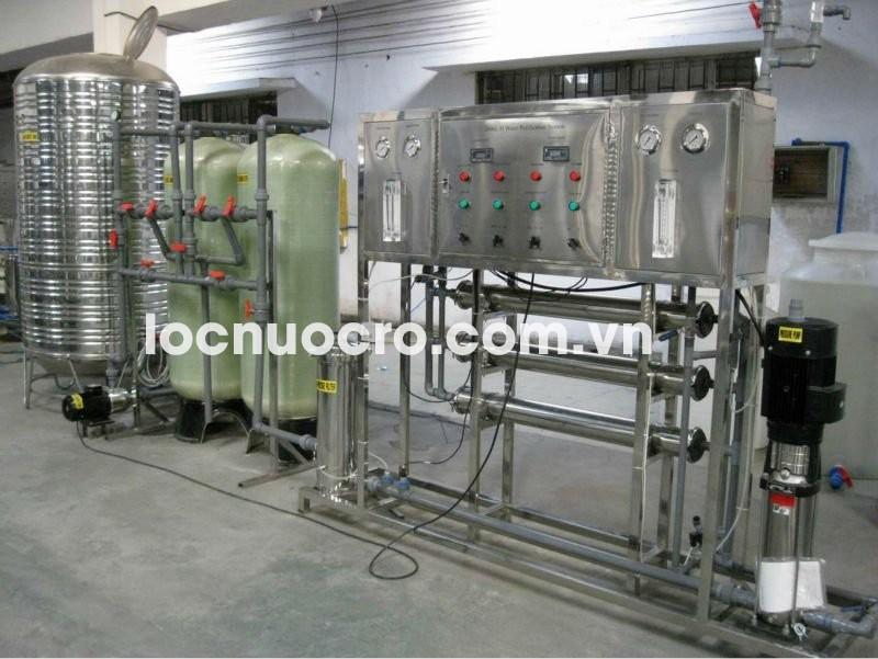 Nguyên lý hoạt động của dây chuyền lọc nước sử dụng công nghệ RO