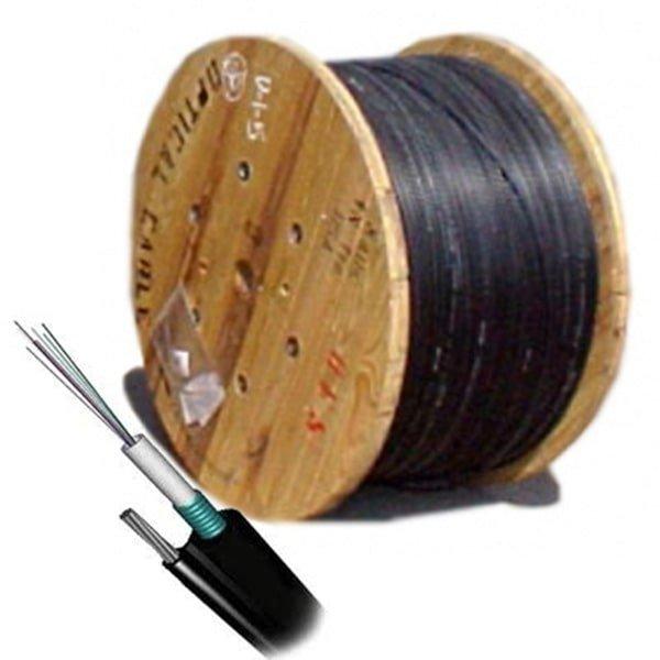 Cáp quang Singlemode 4FO FTTH – Dây thuê bao quang 4 core ống đệm lỏng
