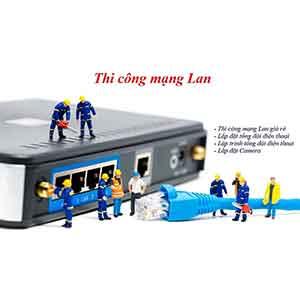 Thi công mạng LAN – Giải pháp mạng LAN-QUANG