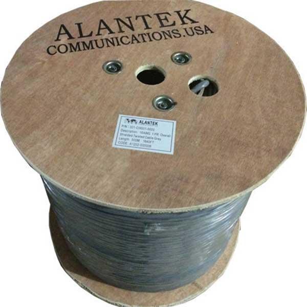 Cáp điều khiển Alantek 16AWG 2 Pair – Cáp tín hiệu Audio/Control | P/N: 301-CI9502-0500