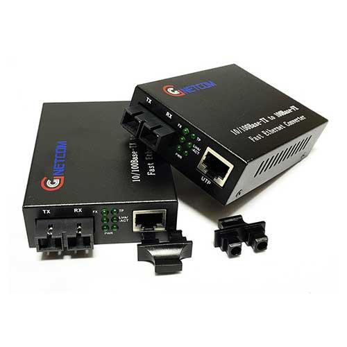Bộ chuyển đổi quang điện 2 sợi GNETCOM GNC-1211S-20 10/100M