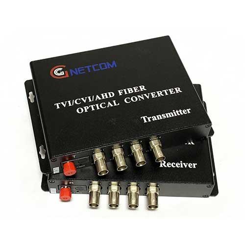 Converter video quang Gnetcom 4 kênh HL-4V-20T/R-720P