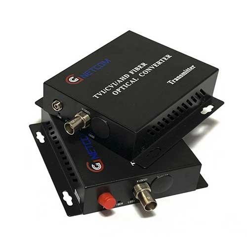 Converter video quang GnetCom 1 kênh HL-1V-20T/R-1080P