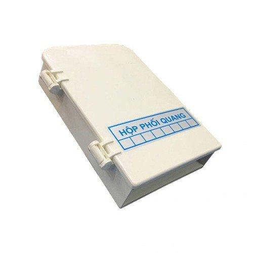 Hộp phối quang ODF 8FO vỏ nhựa full phụ kiện