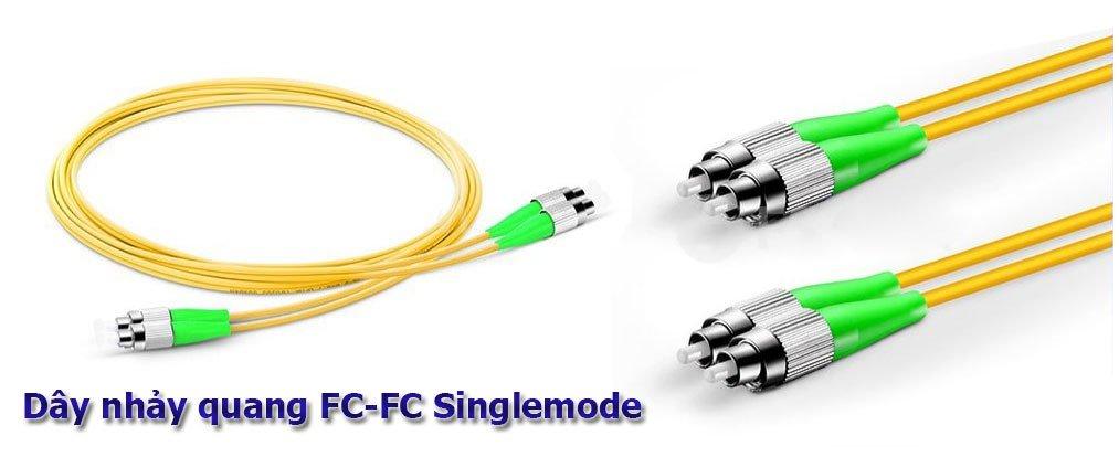 Dây nhảy quang FC-FC Singlemode