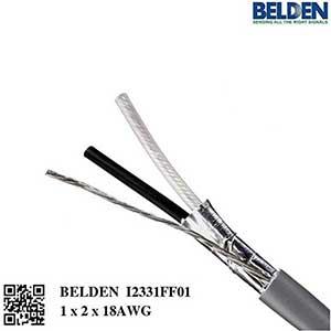 Cáp điều khiển Belden AWG18 1 Pair   1x2x18AWG chống nhiễu, P/N: I2331FF01