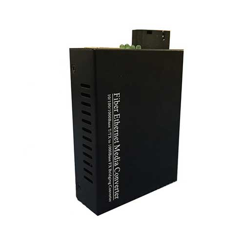 Bộ chuyển đổi quang điện 1 sợi Upcom 10/100/1000M