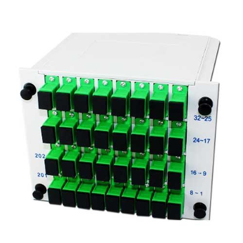 Bộ chia quang 1×8 lắp Box – Splitter quang 1 ra 8 lắp sẵn trong hộp phối quang