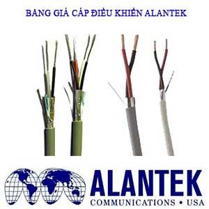 Bảng báo giá cáp điều khiển, cáp tín hiệu chống nhiễu Alantek năm 2021 [Update]