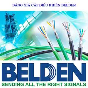 Bảng báo giá cáp điều khiển, cáp tín hiệu chống nhiễu Belden năm 2021 [Update]