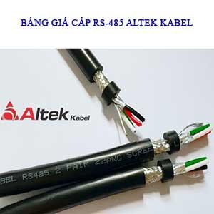 Bảng báo giá cáp RS-485 Altek Kabel năm 2021 [Update]