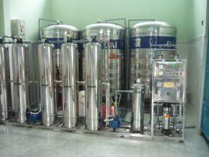 Dây chuyền lọc nước RO 750 l/h dùng trong dược phẩm