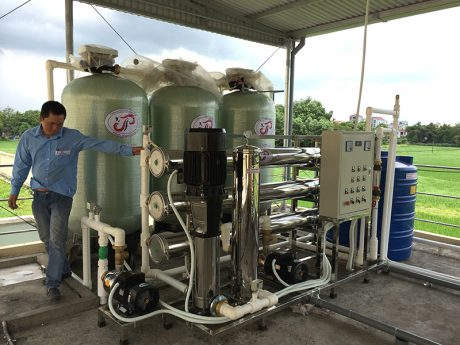 Dây chuyền lọc nước RO công suất 8000lít/h