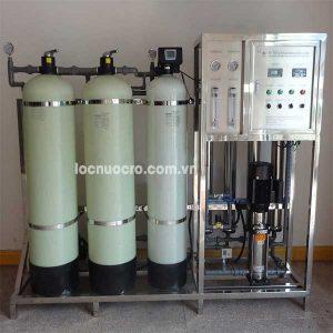 Dây chuyền lọc nước tinh khiết công nghệ RO 1000 lít/h