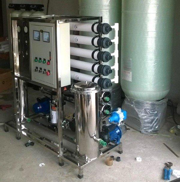 DÂY CHUYỀN SIÊU LỌC UF CÔNG SUẤT 5000l/h | Công nghệ lọc nước RO