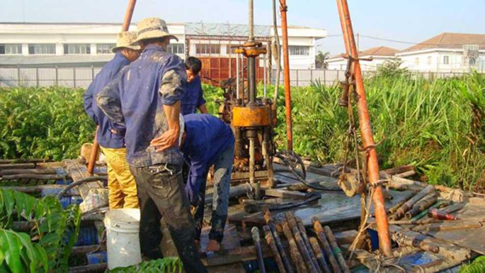Dịch vụ khoan giếng công nghiệpchuyên nghiệp trên toàn quốc