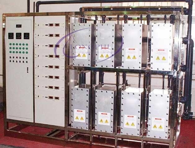 Thiết bị xử lý nước EDI, công nghệ tách khoáng trong hệ thống lọc nước