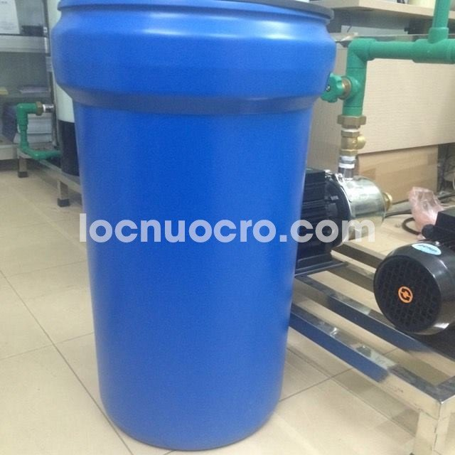 Thùng muối nhập khẩu - Linh kiện máy lọc nước công nghiệp