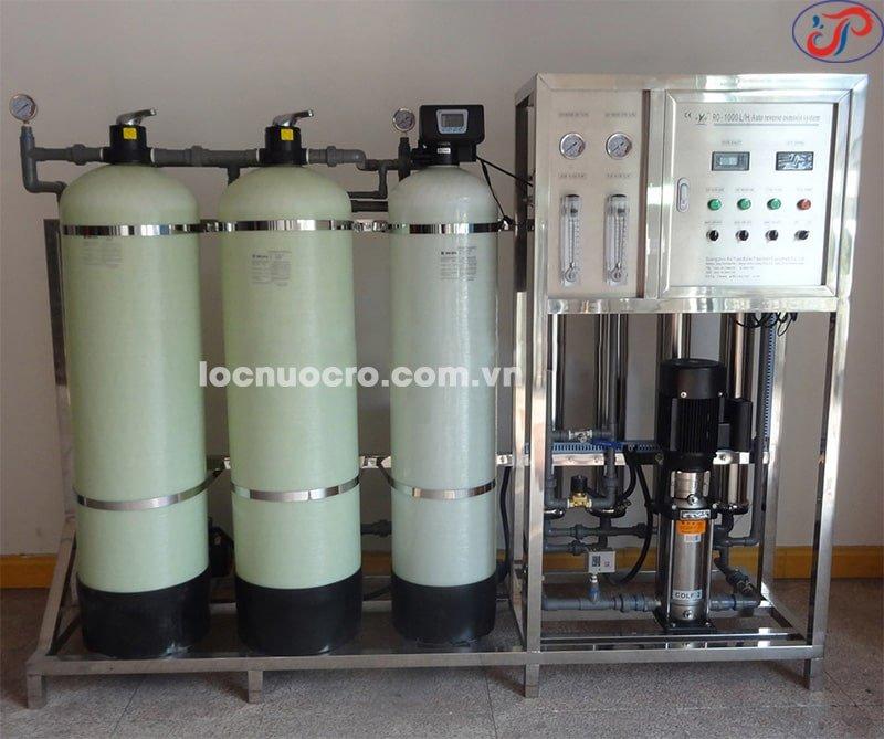 Hệ thống lọc nước Long Phú